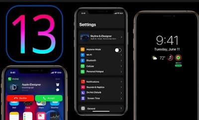dan Anda dapat mengalaminya sendiri jika Anda memiliki iPhone atau iPod Touch yang memenu Cara Mengaktifkan Mode Gelap / Dark Mode di iOS 13