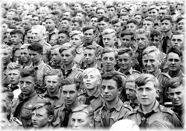 Hitler Youth Nazi convention Nuremberg  1935