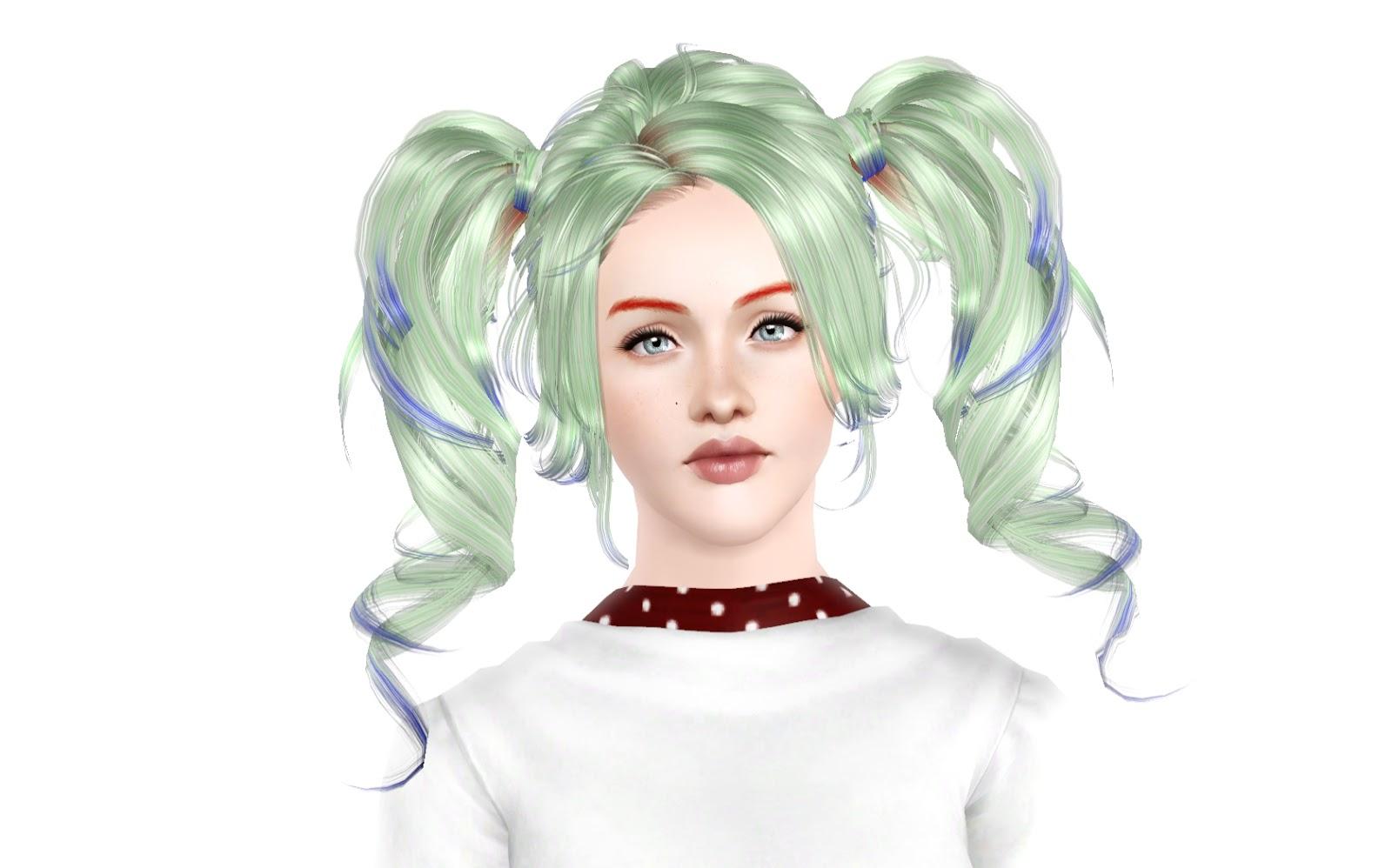 My Sims 3 Blog Michelle Hair Set By Rayne