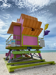Miami Beach Lifeguard Towers are all different!