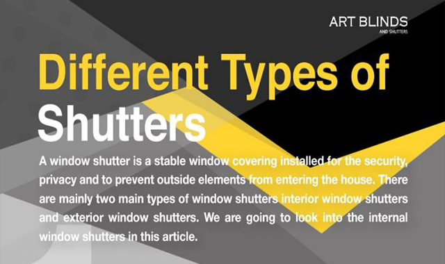 Different Types of Shutters