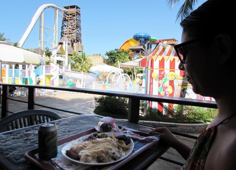 Beach Park, comidas e bebidas