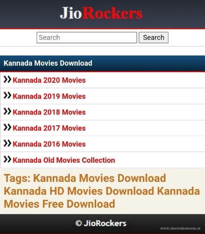 Jio Rockers Kannada 2021 Movies Download   Latest Kannada Movies