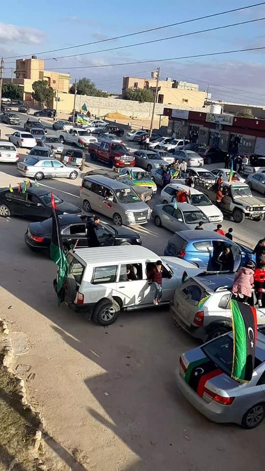 سكان مدينة الرحيبات الأمازيغ يحتفلون بالذكرى التاسعة لثورة 17 فبراير