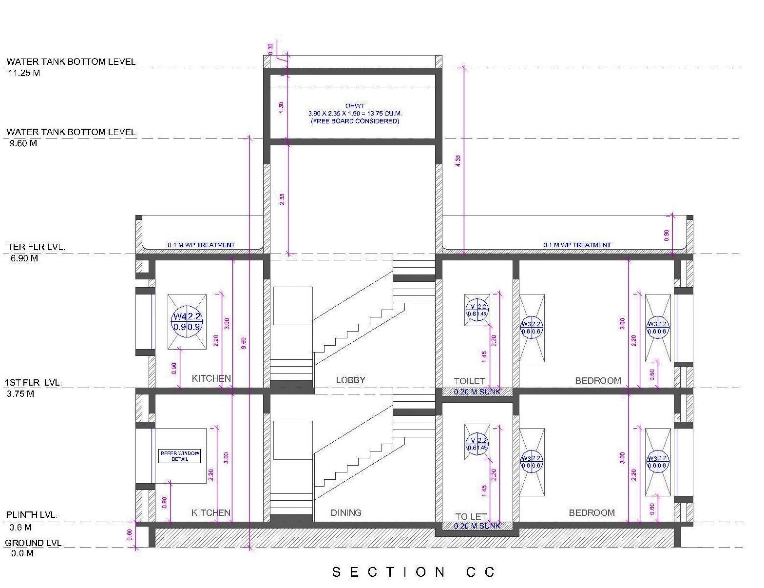 Architectural Portfolio Bungalow For Mr Chandrakant