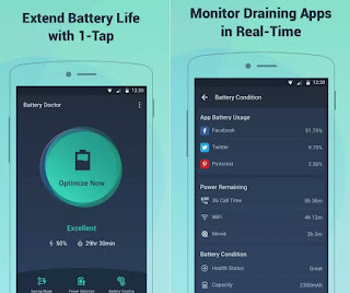 Battery Doctor (Android, iOS)