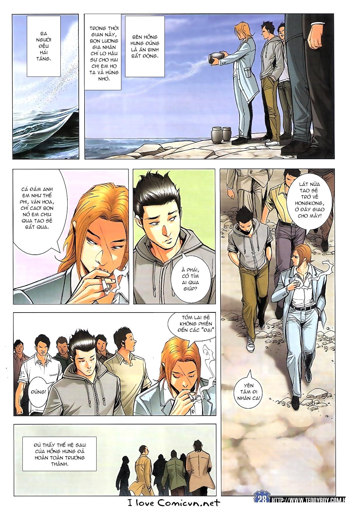 Người Trong Giang Hồ chapter 1807: hồng tiên sinh trang 27