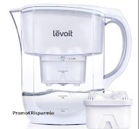 Logo Vinci gratis Caraffa Filtrante con cartucce filtranti acqua Levoit