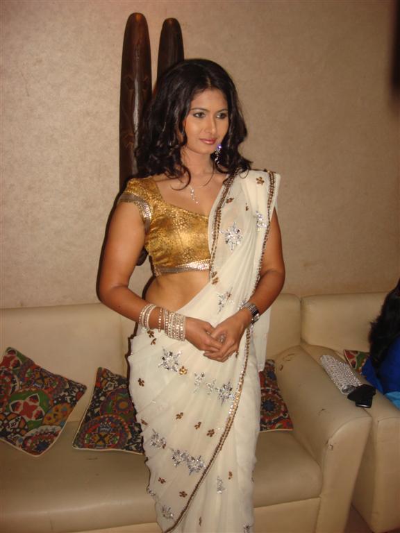 Divya Diwedi Hot In Saree Backles - Unseen Kapoor-3622