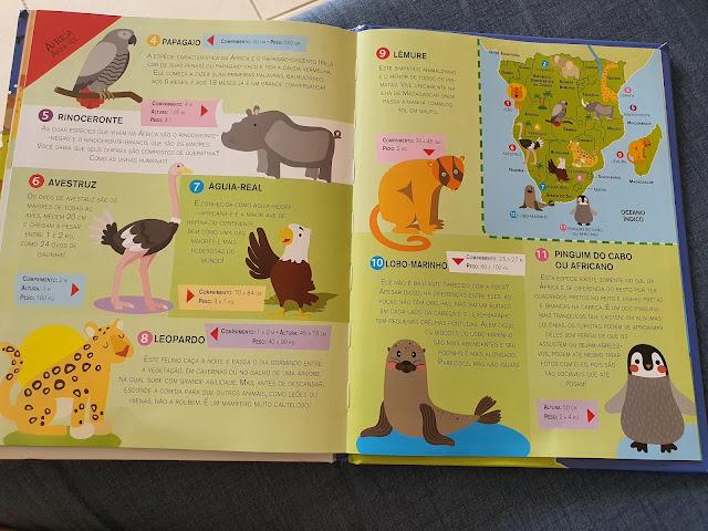 Safari com crianças na África