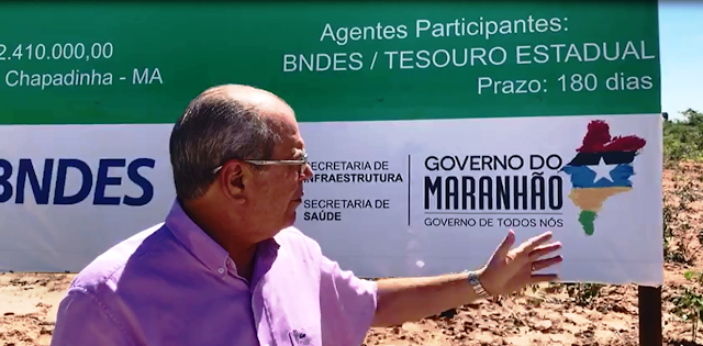 Resultado de imagem para Deputado Hildo Rocha visita hospital regional de Chapadinha