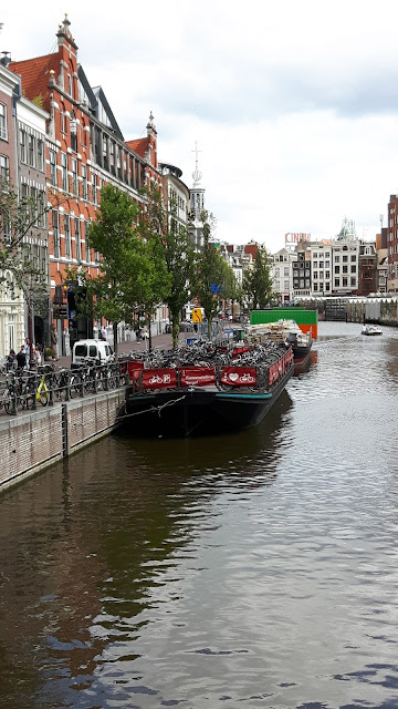 Fahrradparkplatz in Amsterdam