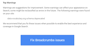 Fix breadcrumbs issue