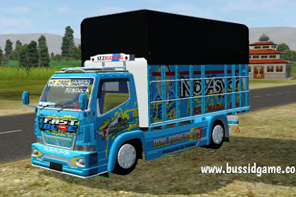 Mod Truck Canter Fast Blue By RMC Creation