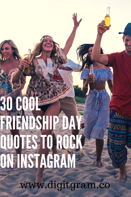 Here's the best and unique 30 quotes to rock on instagram