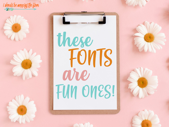 Fun Handwriting Fonts