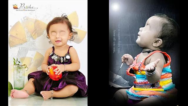 baby photo editing