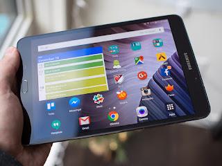 tablet terbaik samsung dengan layar yang kecil