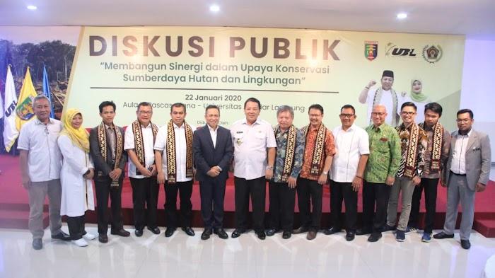37,42 % Kawasan Hutan Lampung Rusak,