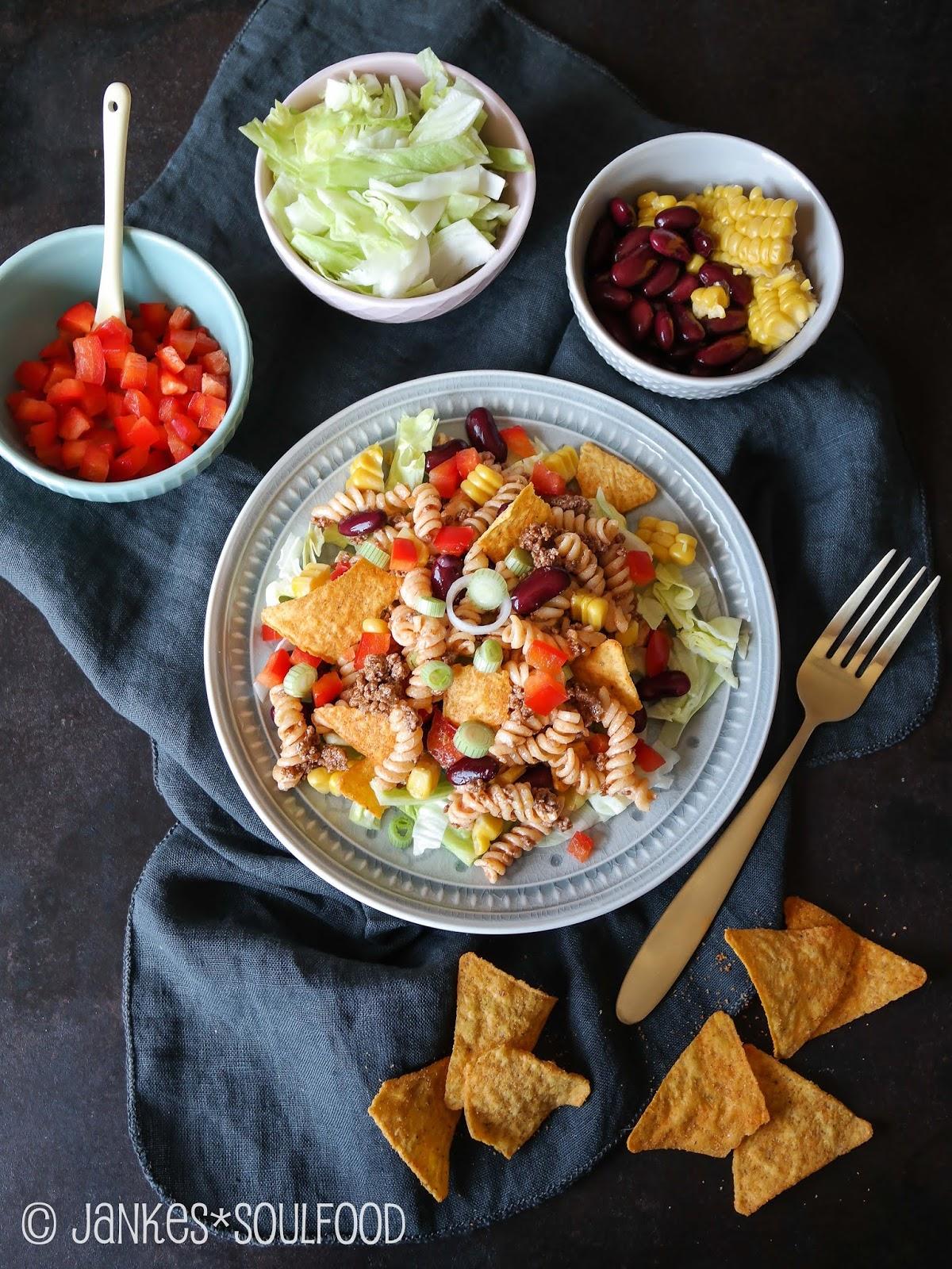Tortilla-Nudel-Salat von Jankes Soulfood