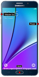 Hard Reset dann Factory Reset Samsung Galaxy Note 5