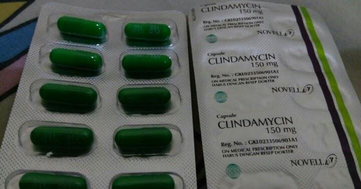 clindamycin 150mg obat jerawat - Noura Saffana