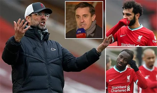 Gary Neville: Liverpool are past decline, they have lost everything