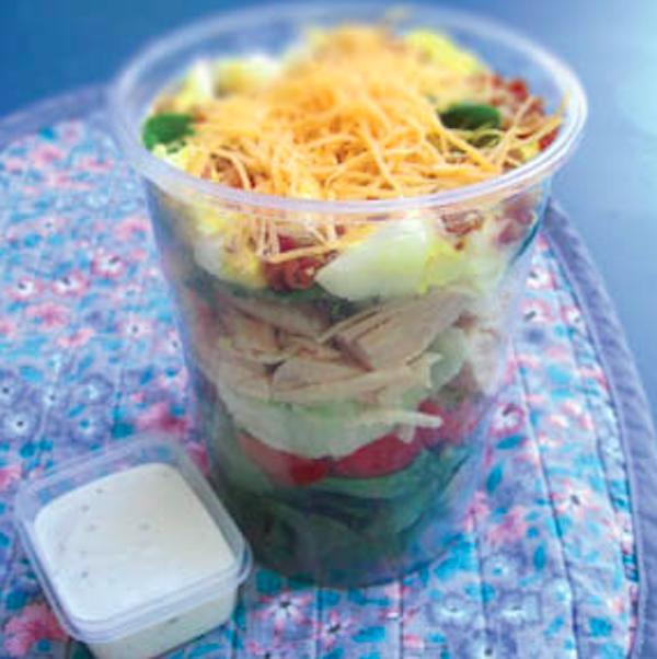 Chef Salad Stack