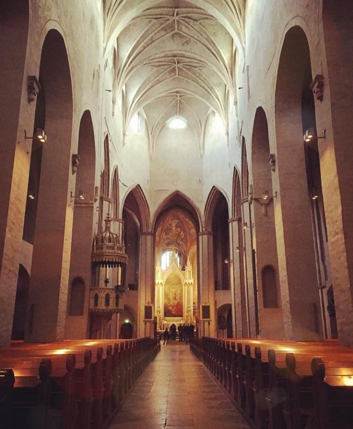 Turku merkezde bulunan eski Turku Katedrali