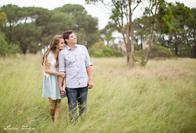 Engagement Photo Shoot in Centennial Park, Sydney - Lucie Zeka - Kristy and Jesse
