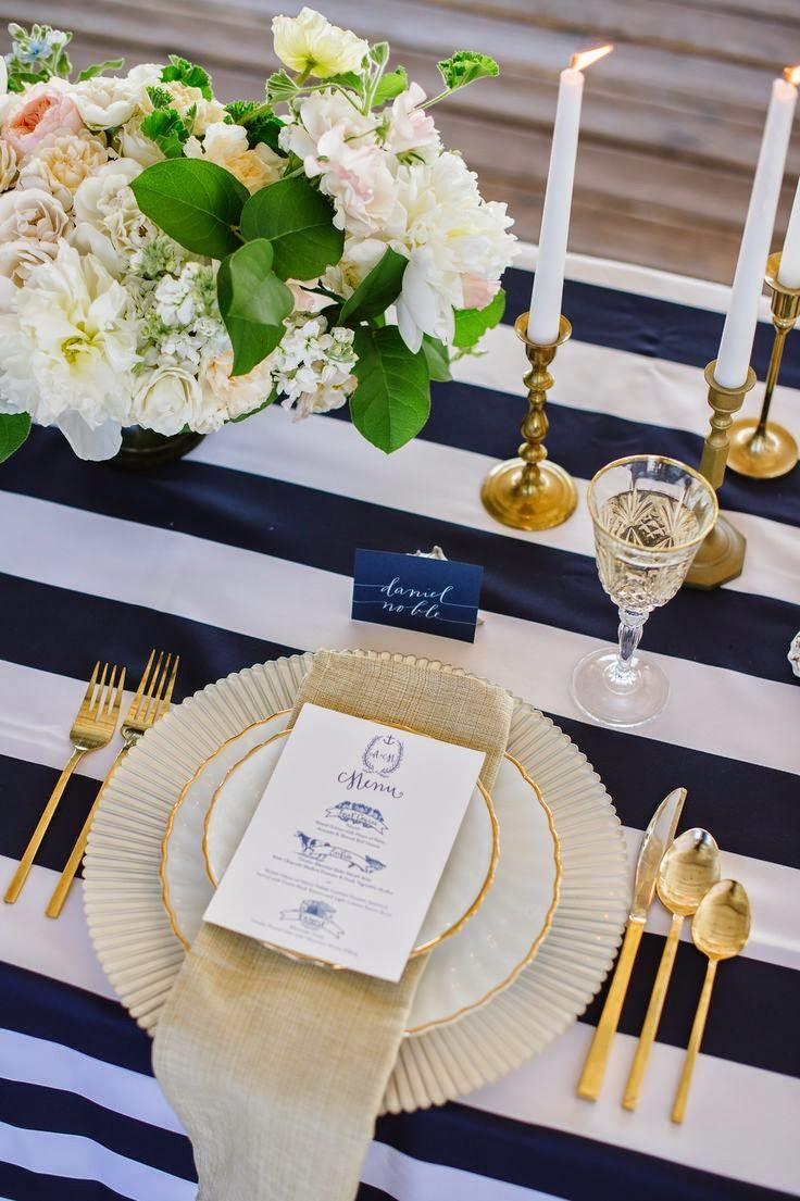 Twende Harusini: Modern wedding Table setting..