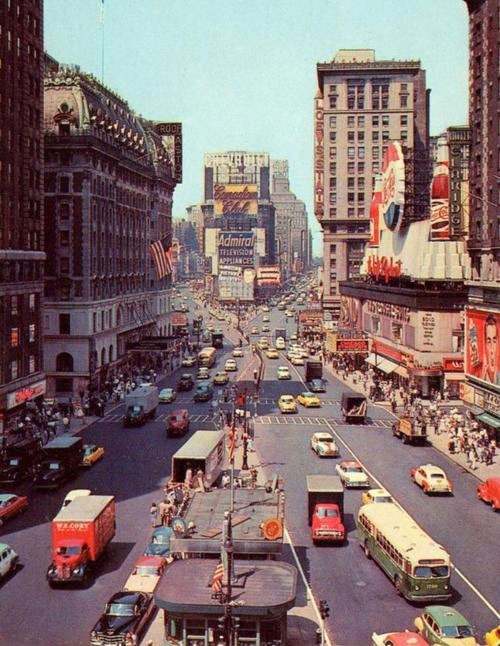 new york city in 1955