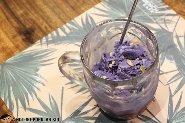 Ube Halo Halo of Bench Cafe