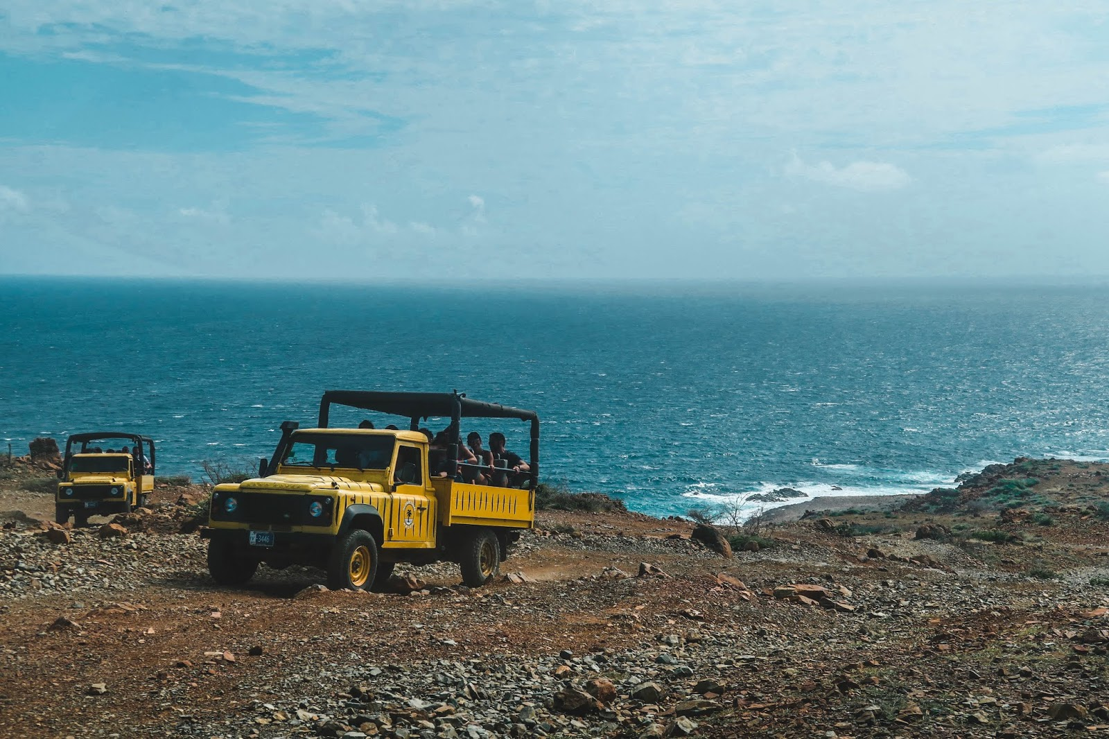 Off roading in Aruba