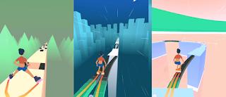 تنزيل لعبة التزلج sky roller على الجوال لعبة رائعة