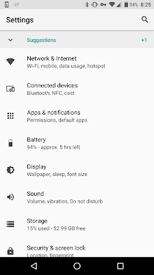 [UPDATE] Loaded Android O on the Nexus 6P - So far so good... 10