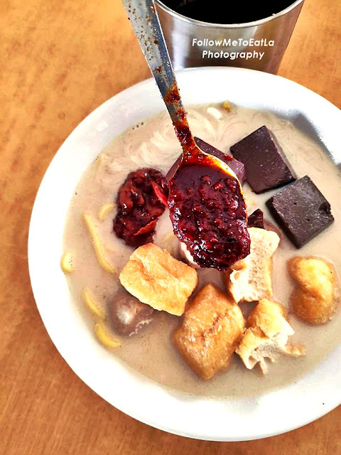 Authentic Penang White Curry Mee