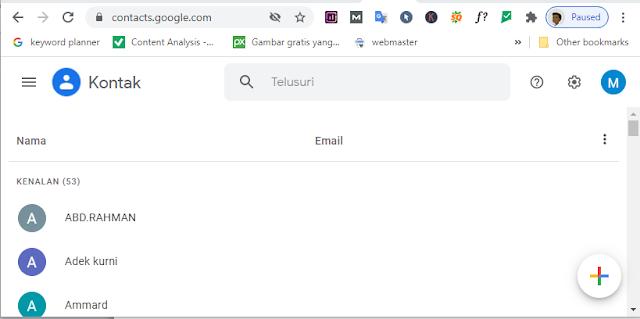 membuat alamat email baru