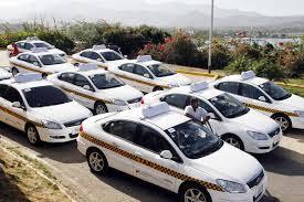 Cómo solicitar un taxi por medio de misión transporte.