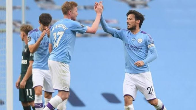 Video: Manchester City 5-0 Newcastle United: Five star performance from the Citizens