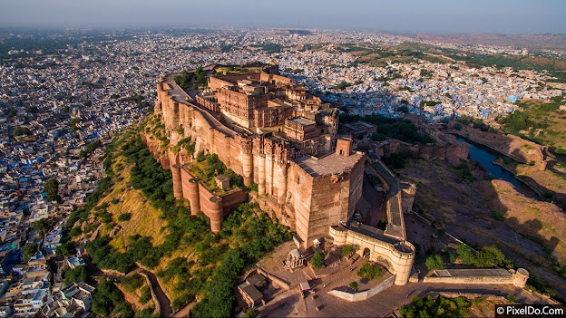 Mehrangarh Fort Tourist Attraction Jodhpur Rajasthan
