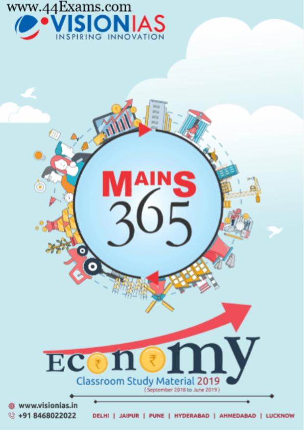Vision-IAS-Economy-Class-Study-Material-2019-For-UPSC-Exam-PDF-Book