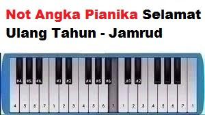 Not Angka Pianika Selamat Ulang Tahun Jamrud Calonpintar Com