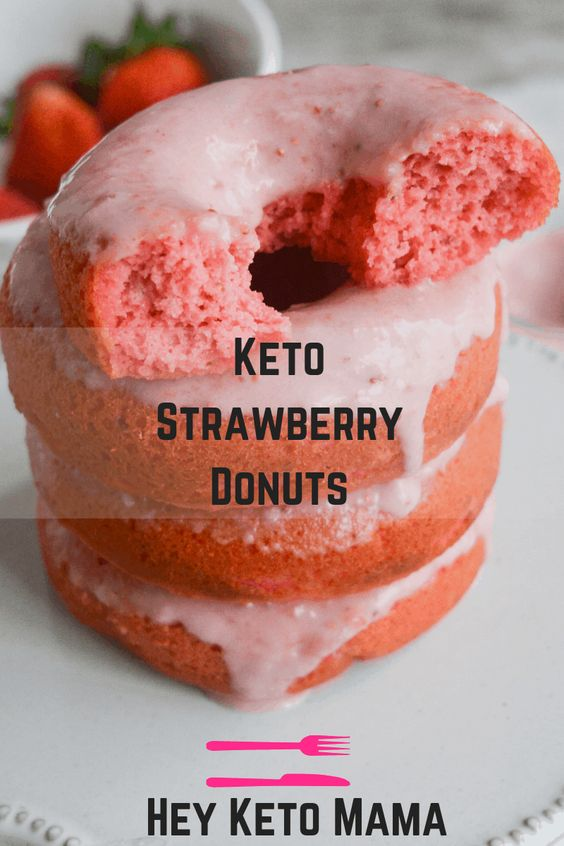 Eating these Keto Strawberry Donuts is like taking a bite out of paradise. With the amazing flavor and texture, you'll never believe they're low carb!