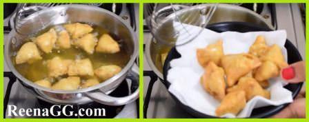 Moong Dal Mini Samosa Recipe step 5