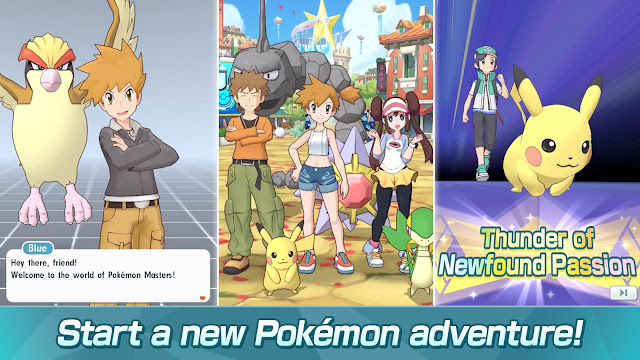 Pokémon Masters Apk Download