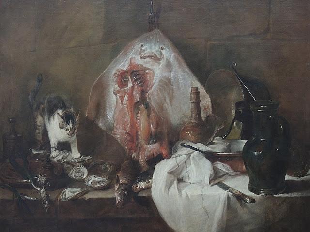 paris: art and cats