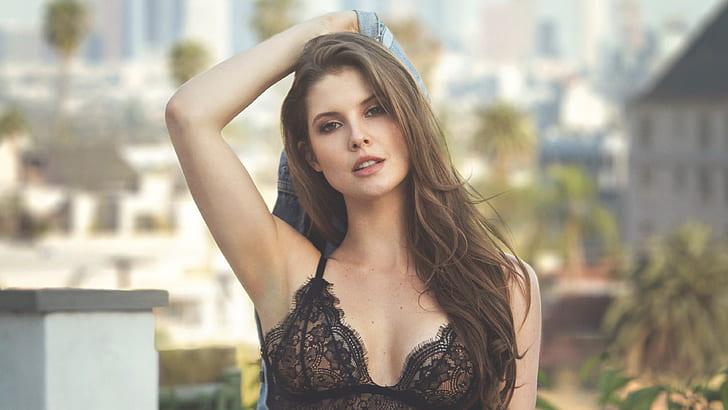amanda cerny, girls, model, hd, 4k, beauty, young adult, beautiful woman, HD wallpaper