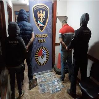Dos detenidos con cocaina al ingreso de Ushuaia