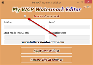 Download Universal Watermark Disabler and remove